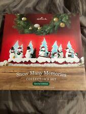 2018 Hallmark Snow Many Memories Collector'S Set - Brand New In Box