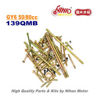 TZ-44 50cc 80cc Screws Set GY6 Parts Chinese Scooter 139QMB Motorcycle Engine