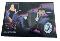 Vintage Show & Street World Calendar Hot Rods 20th Anniversary - 1994 Babes