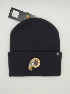 Washington Redskins Carhartt Mens Black Cuff Knit Winter Hat cap toboggan new