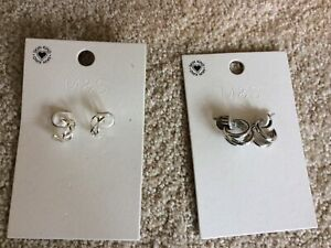 Marks & Spencers Earrings Two Pairs Brand New