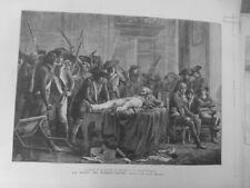 1891 Robespierre Cuadro Lucien Melingue