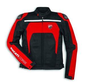 Ducati Corse Men's Dainese Tex Summer C2 Airflow Jacket, Mesh, 9810458