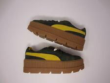 Puma Fenty Rihanna Cleated Creeper women platform shoe sneaker 366268 01 green 8