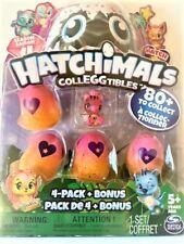 HATCHIMALS Colleggtibles eggs 4 Pack Plus Bonus - Season 4 - Brand New in Box