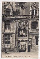 blois , le château , façade louis XII , le portail