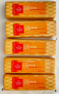 5 Hickory Farms Smoked Cheddar Blend Pasteurized Process Cheese 10 OZ Each