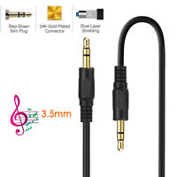 3.5mm AUX AUXILIARY CORD 6FT Male Stereo Audio Cable PC iPod MP3 CAR AUDIO lot