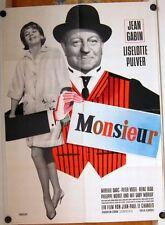 MONSIEUR (Pl. '64) - LISELOTTE PULVER / JEAN GABIN / MIREILLE DARC