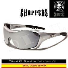 CHOPPERS Gafas de Sol Acolchado UVAB Espejo Moto Sunglasses Lunettes Occhiali