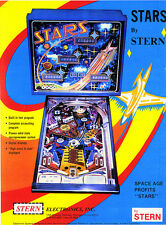 STARS stern Pinball chip rom set