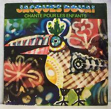 """33 tours JACQUES DOUAI Disque Vinyle LP 12"""" CHANTE POUR LES ENFANTS - BAM 5827"""