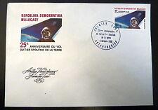 MADAGASCAR  670   PREMIER JOUR FDC    GAGARINE,VOSTOK 1        80F      1982