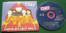 Chef from South Park Chocolate Salty Balls Abs Excellent Condition CD Single
