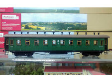"HO model of Soviet vintage ""Egorievskiy"" coach of suburban train"