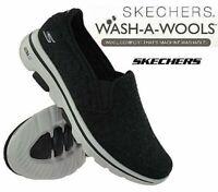 Mens Skechers GOWalk Casual Slip On Memory Foam Walking Wool Trainers Shoes Size