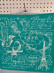 "Retired— NEW Chalk Couture "" French Country "" Size D Transfer"