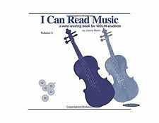 I Can Read Music Vol 1: Violin (For Violin) Free Shipping