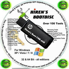 Win 7 8 Professional Repair Bootable Recovery Fix Restore Software 4GB USB Drive