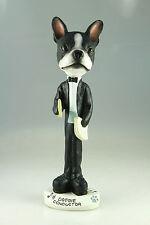 Conductor Boston Terrier Interchangable Body See Breeds & Bodies @ Ebay Store