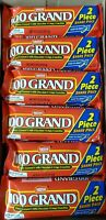 (SEE DETAILS) 24x 100 Grand Chocolate Candy Bars 2 Piece Share Pack 2.8oz