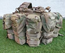 More details for british army mtp molle webbing plce chest rig battle belt multicam brand new