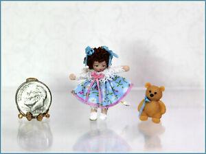 Dollhouse Miniature Ethel Hicks Tiny Baby Brooke Angel Children Doll
