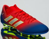 adidas Nemeziz Messi 18.3 FG New Mens Soccer Shoes Active Red Silver Blue BC0316