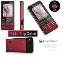 Sony Ericsson G900 Dark Rot (Ohne Simlock) 3G 5MP WLAN Bluetooth Touch Radio GUT