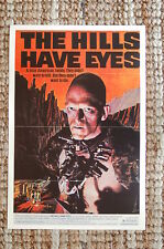 The Hills Have Eyes Lobby Card Movie Poster