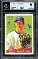 Clayton Kershaw Rookie Card 2008 Upper Deck Goudey #75 BGS 9 (9.5 9 9.5 9)
