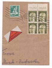 Handstamped Elizabeth II (1952-Now) Cover European Stamps