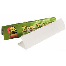 320 Zig Zag Vert Taille King Rolling Papiers 10 Livres de 32