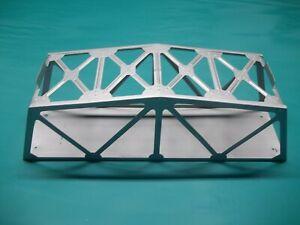 metal silver trestle bridge lionel marx 1950's excellent condition