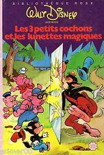 Les 3 petits cochons et les lunettes magiques / Walt DISNEY // Bibliothèque Rose