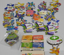 EBAY LIVE Collector Pins 20+ Pins and Magnet Set