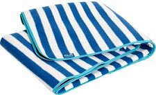 Picnic Travel Rug Striped Fleece Blanket , Polar Gear Alfresco Breton Stripe