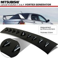 Mitsubishi Lancer 07-09 Evolution 10 Evo X Glossy Black Vortex Generator Spoiler