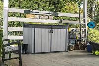 Baule Porta Attrezzi Ricovero Resina Da Esterno Grande Store 190.5x109.3x132.5 H