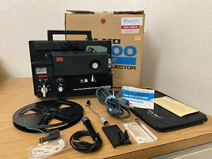 VTG Elmo ST-600 2-Track 8mm Sound Projector Complete & Works - Original Box