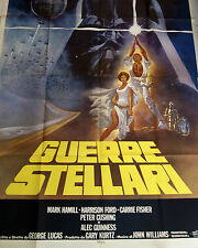 STAR WARS Poster Authentic Original 1977 (Near Mint Condition)