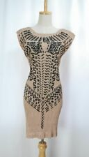ISSEY MIYAKE Beige Pleats Sleeveless Tunic Dress 196 2856