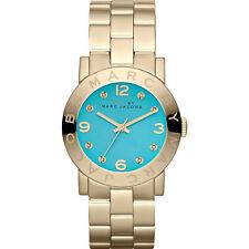 Nuevo Marc Jacobs mbm3220 señoras Oro Amy Reloj - 2 Año De Garantía