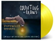 Counting Crows: Underwater Sunshine 180g Yellow Coloured Vinyl 2 x LP Record