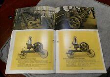 Stickney Antique Hit Miss Gas Engine Catalog Manual Booklet, Steam Hot Air Lit