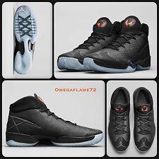 Nike Air Jordan XXX 30 Black Cat 811006- 010 UK 7, EUR 41, USA 8