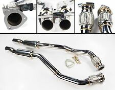 STAINLESS STEEL EXHAUST DECAT DE CAT DOWNPIPE FOR AUDI A5 RS5 4.2 V8 10+
