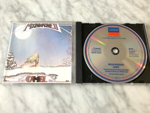Camel MoonMadness CD TARGET ERA West Germany London 810 879-2 RARE! SILVER DISC!