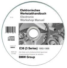 BMW Serie 3 (E36) Workshop Manual - Repair Manual on CD