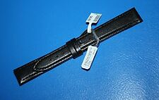 CONDOR Black CHEVRAUX  16mm R  Watch Strap